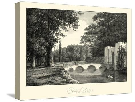 View of Ditton Park-James Hakewill-Stretched Canvas Print
