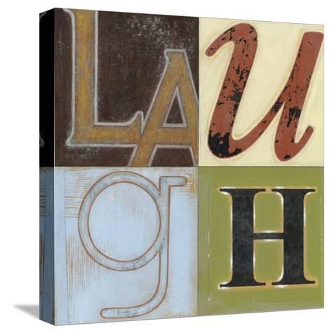Laugh a Lot-Norman Wyatt Jr^-Stretched Canvas Print