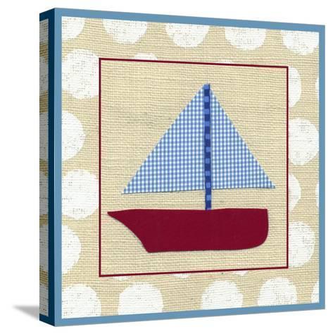 EJ's Sailboat-Chariklia Zarris-Stretched Canvas Print