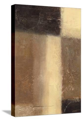 Ivory and Onyx I-Norman Wyatt Jr^-Stretched Canvas Print