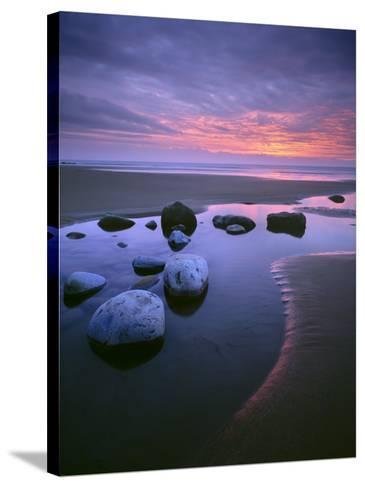Dunraven Bay-Joe Cornish-Stretched Canvas Print