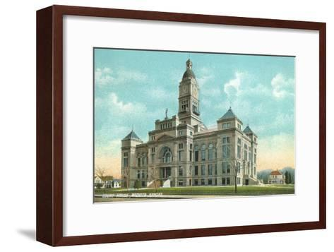Courthouse, Wichita, Kansas--Framed Art Print