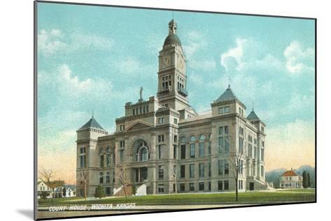 Courthouse, Wichita, Kansas--Mounted Art Print