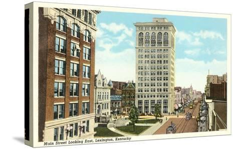 Main Street, Lexington, Kentucky--Stretched Canvas Print