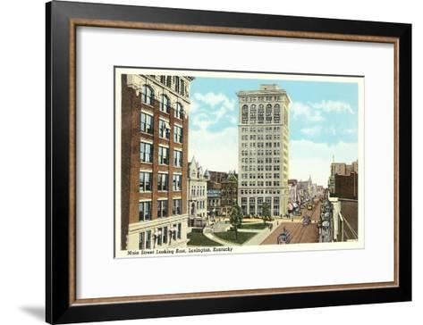 Main Street, Lexington, Kentucky--Framed Art Print