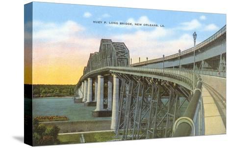 Huey P. Long Bridge, New Orleans, Louisiana--Stretched Canvas Print