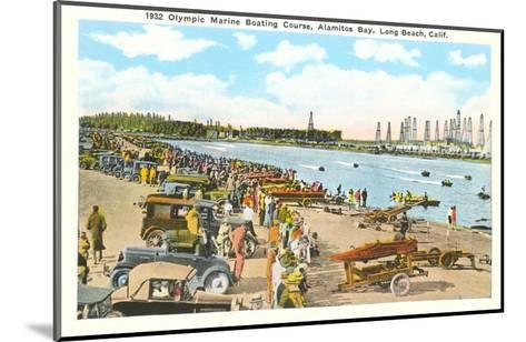 Olympic Boating Course, Long Beach, California--Mounted Art Print