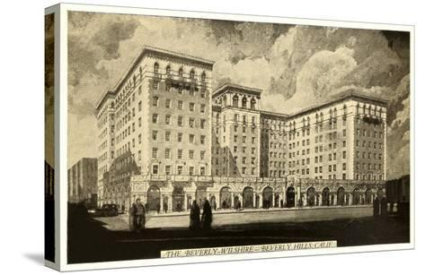 Beverly-Wilshire Hotel, Beverly Hills, Los Angeles, California--Stretched Canvas Print