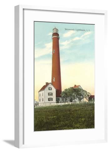Shinnecock Lighthouse, Long Island, New York--Framed Art Print