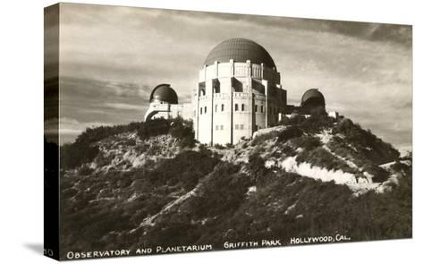 Griffith Park Planetarium, Los Angeles, California--Stretched Canvas Print