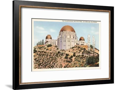 Griffith Park Planetarium, Los Angeles, California--Framed Art Print