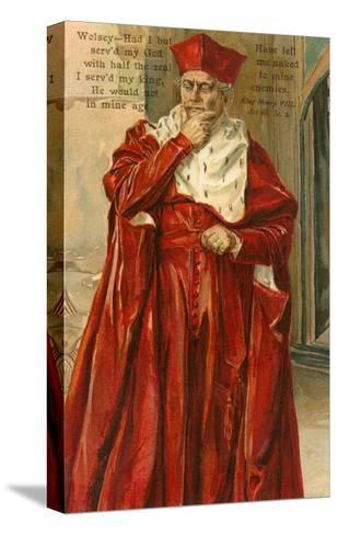 Wolsey from Henry VIII--Stretched Canvas Print