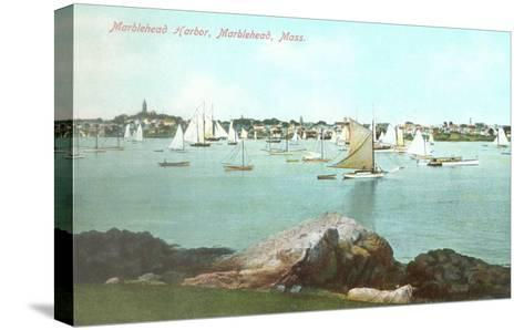 Marblehead Harbor, Marblehead, Mass.--Stretched Canvas Print