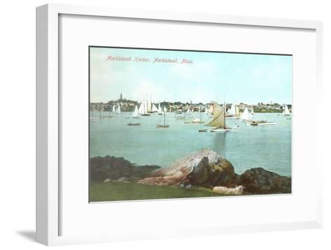Marblehead Harbor, Marblehead, Mass.--Framed Art Print