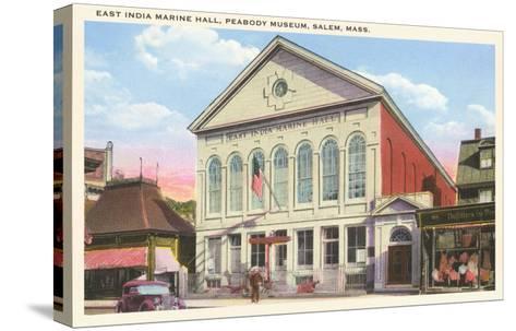 East India Marine Hall, Peabody Museum, Salem, Mass.--Stretched Canvas Print