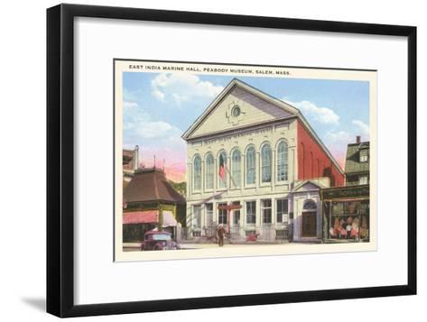 East India Marine Hall, Peabody Museum, Salem, Mass.--Framed Art Print