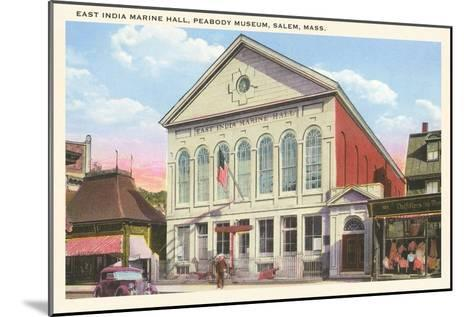East India Marine Hall, Peabody Museum, Salem, Mass.--Mounted Art Print