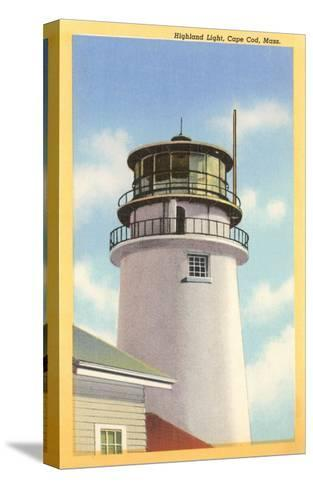 Highland Lighthouse, Cape Cod, Mass.--Stretched Canvas Print