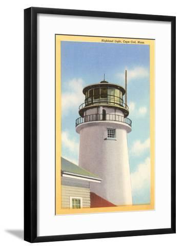 Highland Lighthouse, Cape Cod, Mass.--Framed Art Print