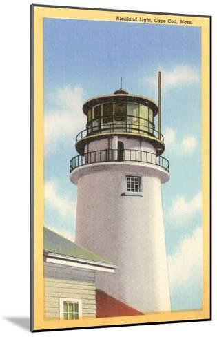 Highland Lighthouse, Cape Cod, Mass.--Mounted Art Print