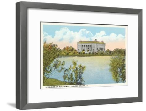 Delgado Art Museum, New Orleans, Louisiana--Framed Art Print