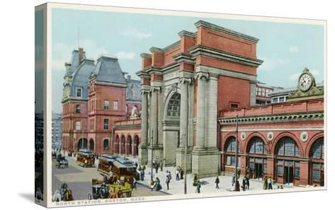 North Station, Boston, Mass.--Stretched Canvas Print
