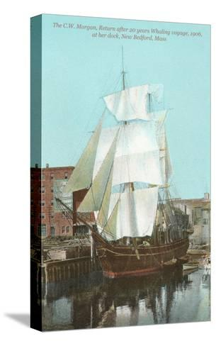 Old Whaler, New Bedford, Mass.--Stretched Canvas Print