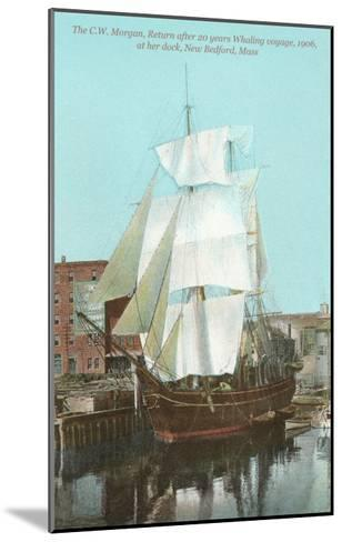 Old Whaler, New Bedford, Mass.--Mounted Art Print