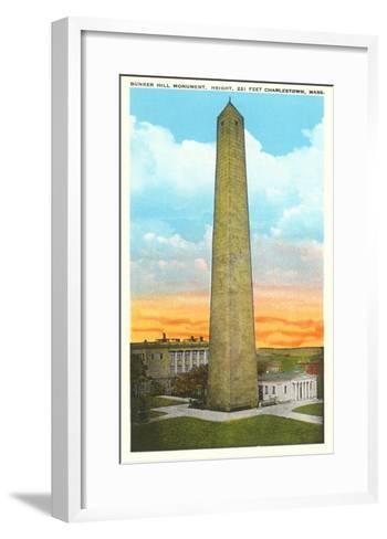 Bunker Hill Monument, Charlestown, Mass.--Framed Art Print