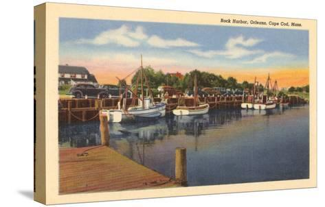 Rock Harbor, Cape Cod, Mass.--Stretched Canvas Print