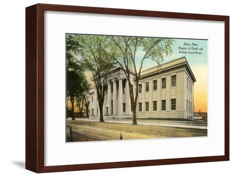 Public Building, Salem, Mass.--Framed Art Print