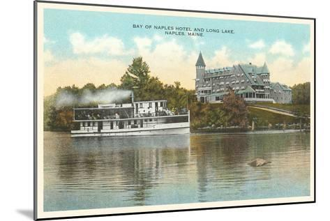 Naples Hotel, Long Lake, Maine--Mounted Art Print