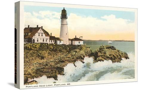 Portland Head Lighthouse, Portland, Maine--Stretched Canvas Print