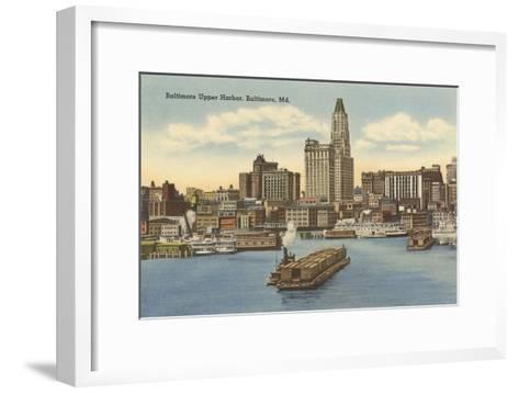 Harbor, Baltimore, Maryland--Framed Art Print