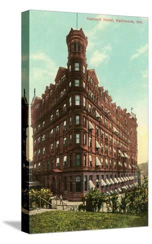 Rennert Hotel, Baltimore, Maryland--Stretched Canvas Print