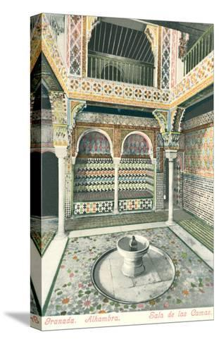 Room of Beds, Alhambra, Granada, Spain--Stretched Canvas Print