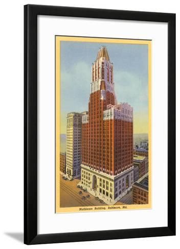 Mathieson Building, Baltimore, Maryland--Framed Art Print