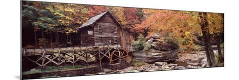 Power Station in a Forest, Glade Creek Grist Mill, Babcock State Park, West Virginia, USA--Mounted Photographic Print
