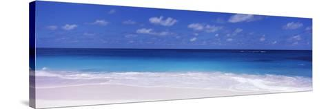 Waves on the Beach, Shoal Bay Beach, Anguilla--Stretched Canvas Print