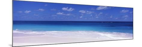 Waves on the Beach, Shoal Bay Beach, Anguilla--Mounted Photographic Print
