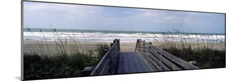Boardwalk on the Beach, Nokomis, Sarasota County, Florida, USA--Mounted Photographic Print