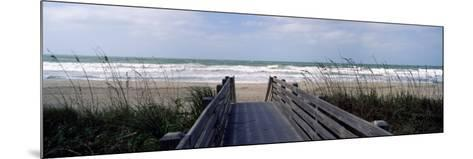Boardwalk on the Beach, Nokomis, Sarasota County, Florida, USA--Mounted Photographic Print