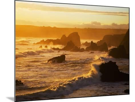 Westerly View, from Bunmahon, the Copper Coast, County Waterford, Ireland--Mounted Photographic Print