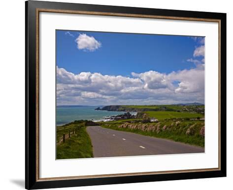 Bunmahon Village, Copper Coast, County Waterford, Ireland--Framed Art Print