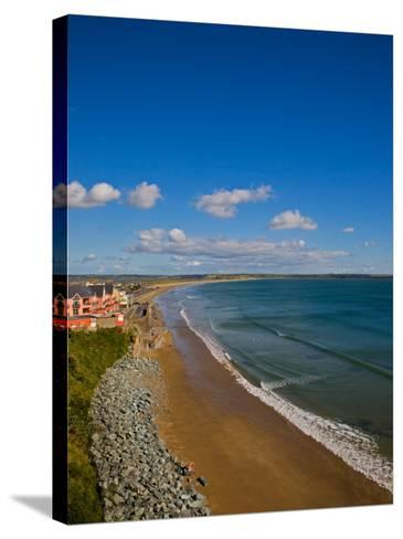 Tramore Strand, Tramore, County Waterford, Ireland--Stretched Canvas Print