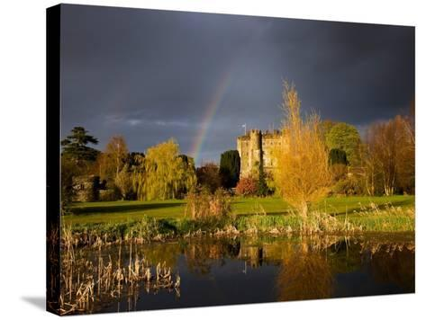 Kilkea Castle Hotel, Built 1180 by Hugh De Lacey, Kilkea, Co Kildare, Ireland--Stretched Canvas Print