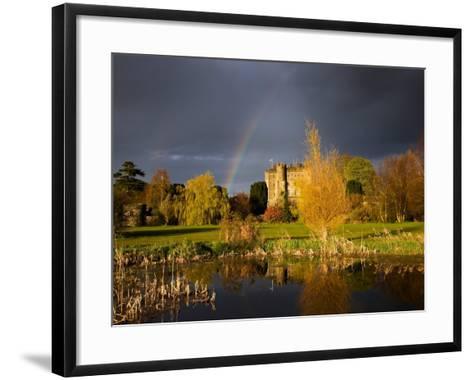 Kilkea Castle Hotel, Built 1180 by Hugh De Lacey, Kilkea, Co Kildare, Ireland--Framed Art Print