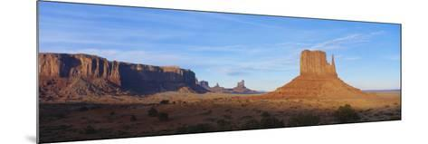 Sunset over Sandstone Bluffs in Monument Valley Navajo Tribal Park, Grand Canyon Np, Arizona, USA-Paul Souders-Mounted Photographic Print