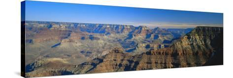Mather Point, Grand Canyon National Park, Arizona, USA-Walter Bibikow-Stretched Canvas Print