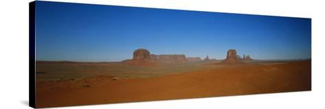Artist's Point, Monument Valley, Arizona, USA-Walter Bibikow-Stretched Canvas Print